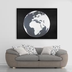 Framed 36 x 48 - Earth