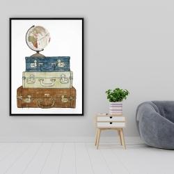 Framed 36 x 48 - Go around the world