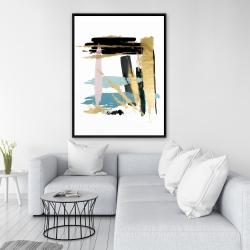 Framed 36 x 48 - Pastel stroke