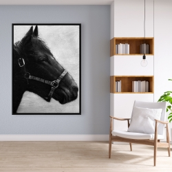 Framed 36 x 48 - Gallopin the horse