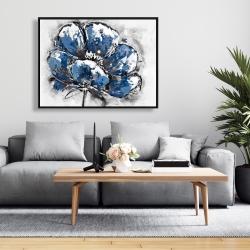 Framed 36 x 48 - Small flower
