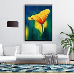 Framed 36 x 48 - Superb contrast flowers