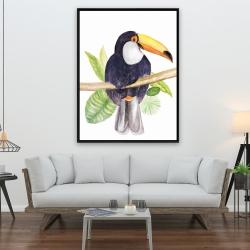 Framed 36 x 48 - Toucan