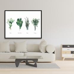 Framed 36 x 48 - Fine herbs