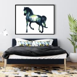 Framed 36 x 48 - Elegant horse