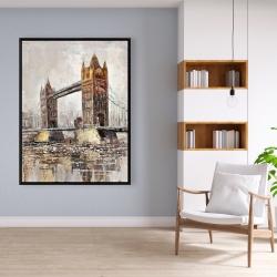 Framed 36 x 48 - London tower bridge