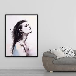 Framed 36 x 48 - Bare skin