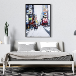 Framed 36 x 48 - Time square