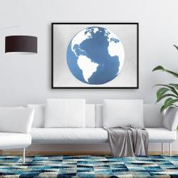 Framed 36 x 48 - The earth