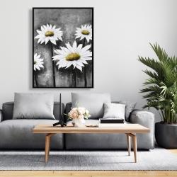 Framed 36 x 48 - Daisies at sun