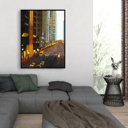 Framed 36 x 48 - New york city 9th street