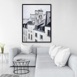 Framed 36 x 48 - Historical buildings