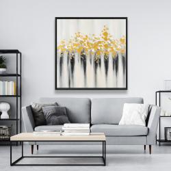 Framed 48 x 48 - Small golden spots