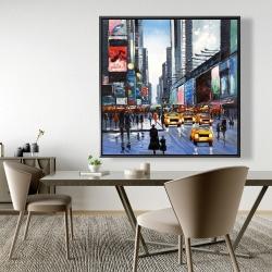 Framed 48 x 48 - Peak hour
