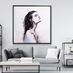 Framed 48 x 48 - Bare skin
