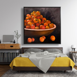 Framed 48 x 48 - Bowl of cherry tomatoes