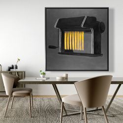 Framed 48 x 48 - Fresh pasta machine