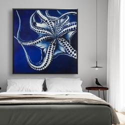 Framed 48 x 48 - Dancing octopus