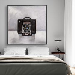 Framed 48 x 48 - Old camera