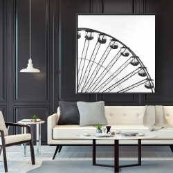 Framed 48 x 48 - Quarter of a ferris wheel