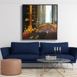 Framed 48 x 48 - New york city 9th street