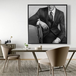 Framed 48 x 48 - Businessman