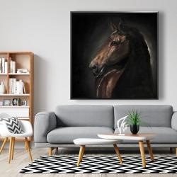 Framed 48 x 48 - Spirit the horse