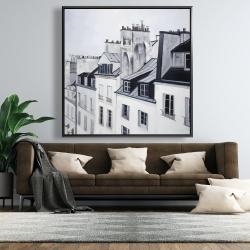 Framed 48 x 48 - Historical buildings
