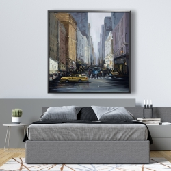 Framed 48 x 48 - In the city