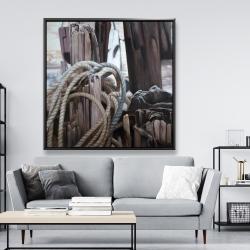 Framed 48 x 48 - Driftwood