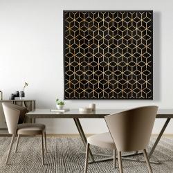 Framed 48 x 48 - Symmetry