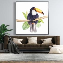 Framed 48 x 48 - Toucan