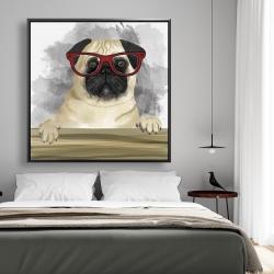 Framed 48 x 48 - Geek carlin