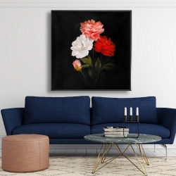 Framed 48 x 48 - Small bundle of roses