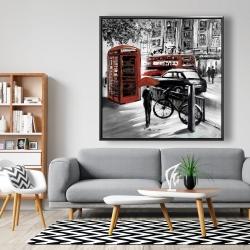 Framed 48 x 48 - European street