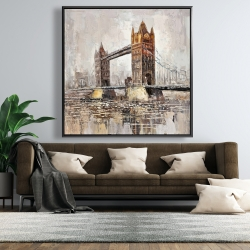 Framed 48 x 48 - London tower bridge