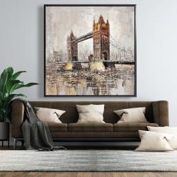 Framed 48 x 48 - London tower bridge
