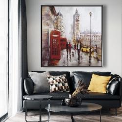 Framed 48 x 48 - The big ben at london
