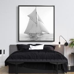 Framed 48 x 48 - Sailing ship