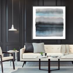 Framed 48 x 48 - Shade of blue
