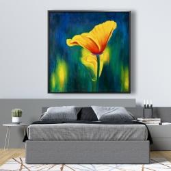 Framed 48 x 48 - Superb contrast flowers