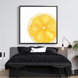 Framed 48 x 48 - Lemon slice