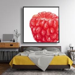 Framed 48 x 48 - Raspberry