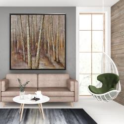 Framed 48 x 48 - Forest