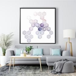 Framed 48 x 48 - Alveoli