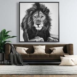 Framed 48 x 48 - The lion king