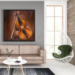 Framed 48 x 48 - Alto violin