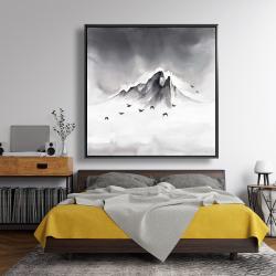 Framed 48 x 48 - Mountain peak