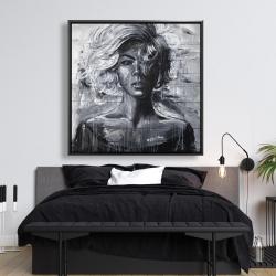 Framed 48 x 48 - Gentle woman