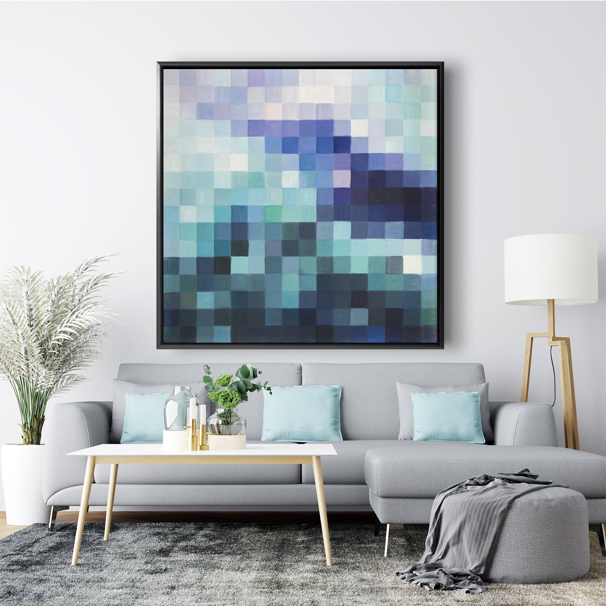 Pixelized landscape
